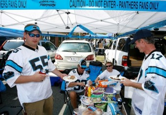 Carolina Panthers Tailgating Public Space