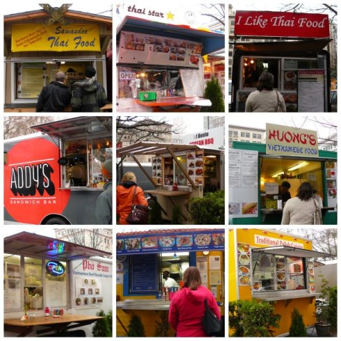 Pop Up Urbanism at its best - food carts of Portland.