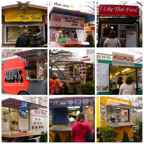 Pop Up Urbanism at its best - food carts of Portland.