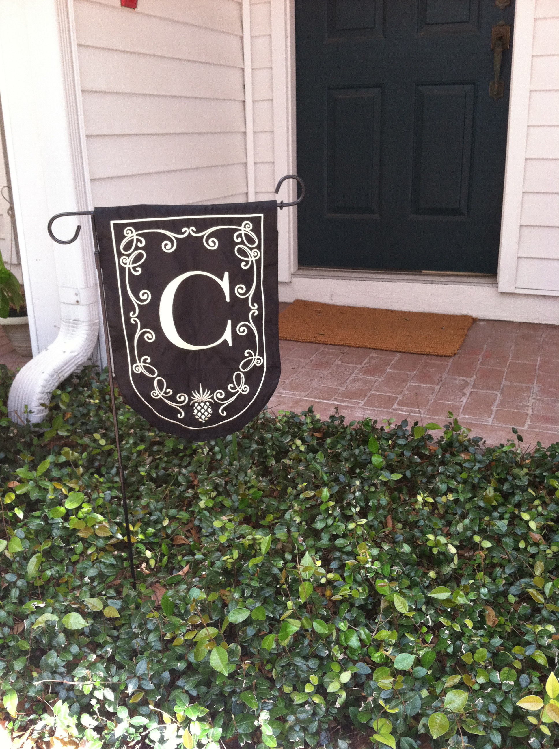 Good On Wednesday Morning After The First HOA Meeting Since Weu0027ve Lived Here, I  Walked Outside To Find Our Small Garden Flag Moved To Another Position In  Our ...