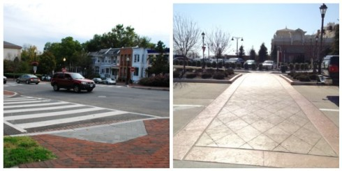 Good planning and good design includes planning for a safe pedestrian environment.