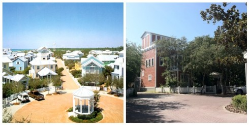 Seaside Florida Then and Now