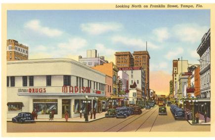 Historic Franklin Street Tampa