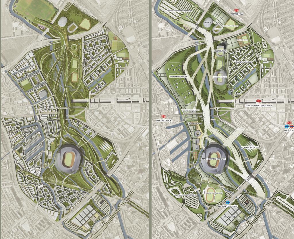 London 2012 Olympics Legacy Master Plans