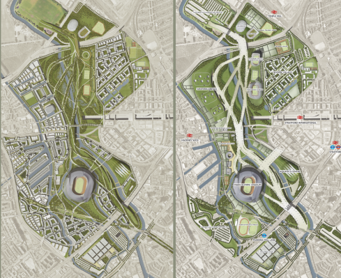 London 2012 Olympics Legacy Master Plans