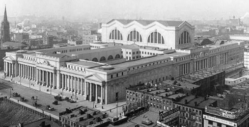 Old Penn Station NYC