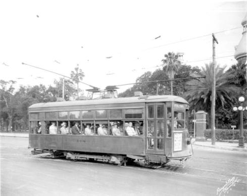 Streetcar in Tampa