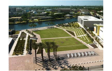 Curtis Hixon Park Downtown Tampa