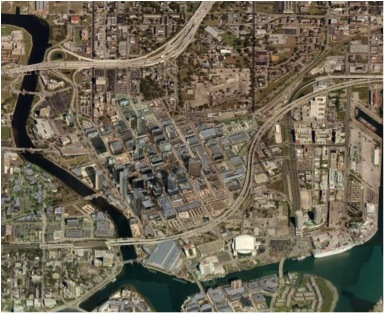 Downtown Tampa Aerial