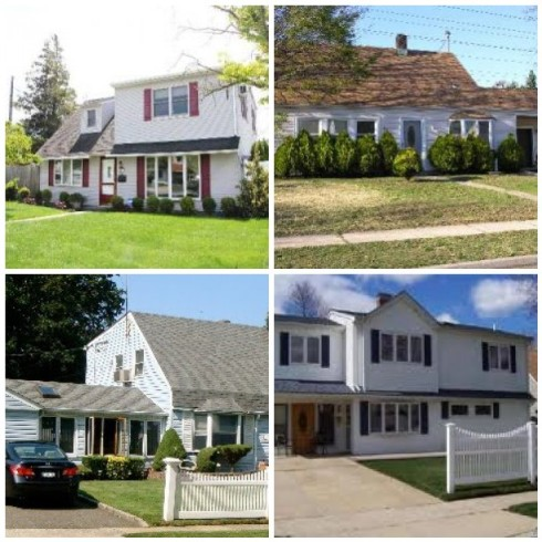Houses in Levittown NY
