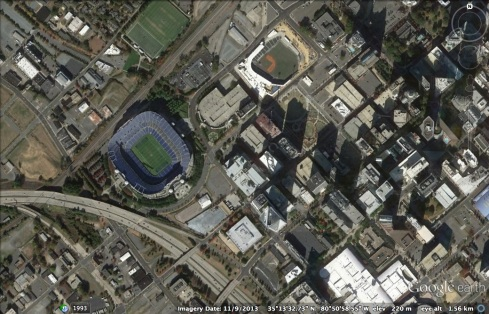 Bank of American Stadium, Charlotte, NC